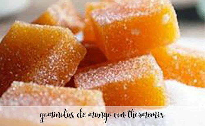 Gominolas de mango con Thermomix
