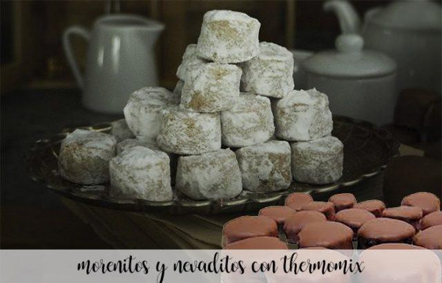 Nevaditos y morenitos con Thermomix