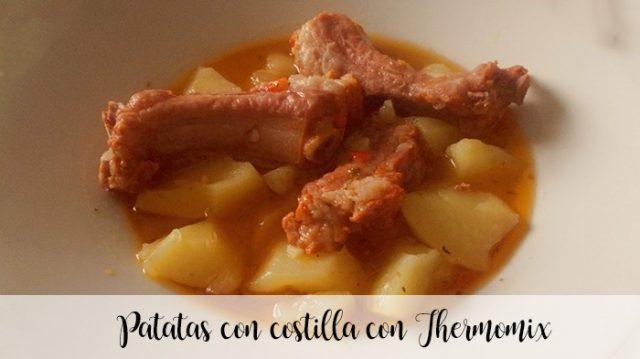 Patatas con costilla con Thermomix