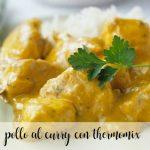 Pollo al curry con Thermomix