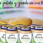 Potitos de patata y zanahoria con thermomix