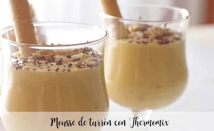 Mousse de Turron thermomix