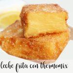 Leche frita de turrón con Thermomix
