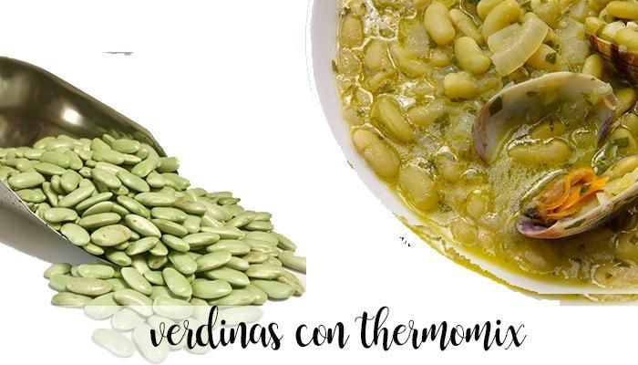 verdinas con thermomix