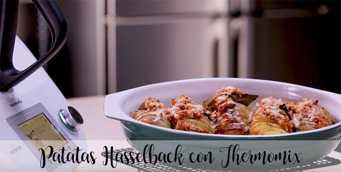 Patatas Hasselback con Thermomix