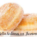 Bollos berlinesas con Thermomix