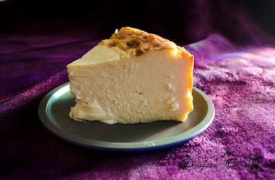 Tarta de queso do cebreiro con thermomix