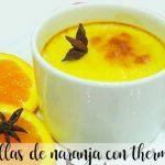 natillas de naranja con thermomix