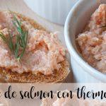 Paté de salmón con thermomix