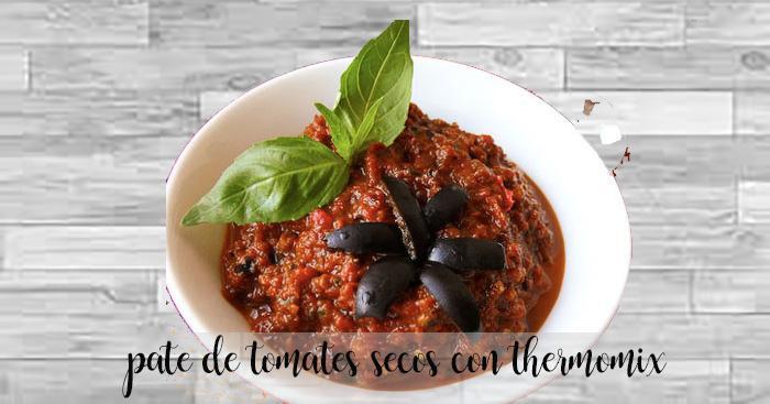 Pate de tomates secos con thermomix