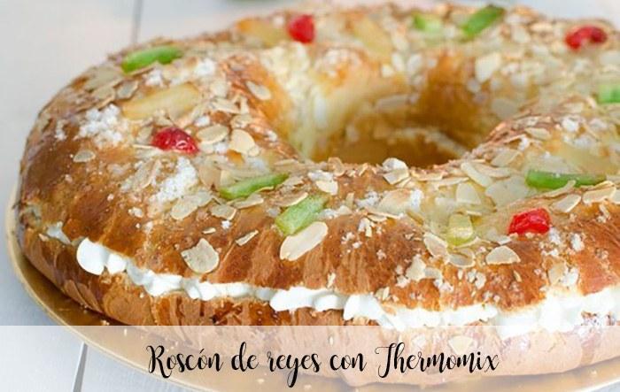 Roscon de reyes de Prado camacho con thermomix