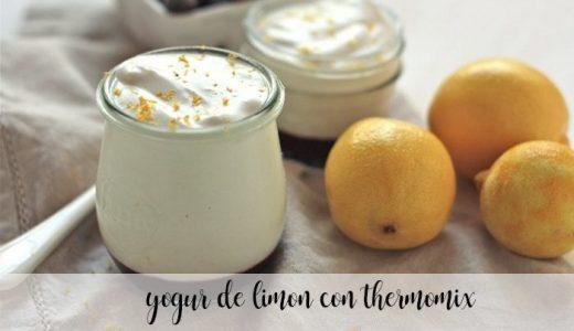 yogur de limon con thermomix