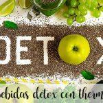 10 bebidas DETOX con thermomix para mejorar tu salud