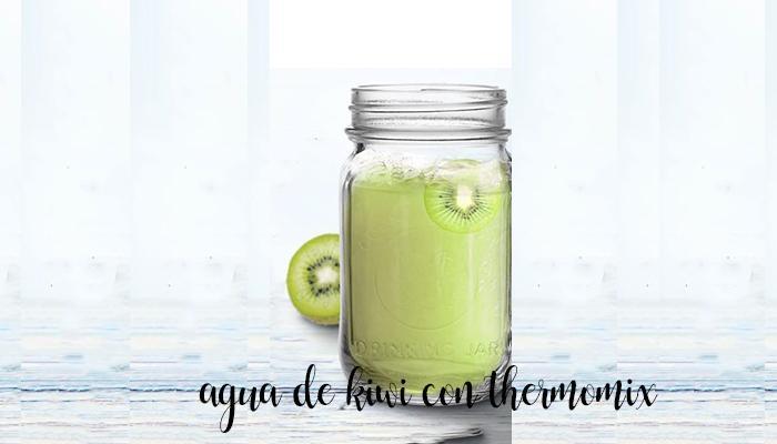 agua de kiwi thermomix