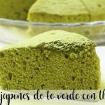 Bizcocho japonés de té verde con Thermomix