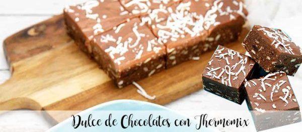 Dulce de Chocolates con thermomix