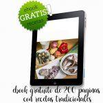 Ebook gratis de recetas tradicionales de 200 paginas