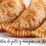 Empanadillas de pollo y manzana con Thermomix