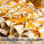Enchiladas mexicanas con Thermomix