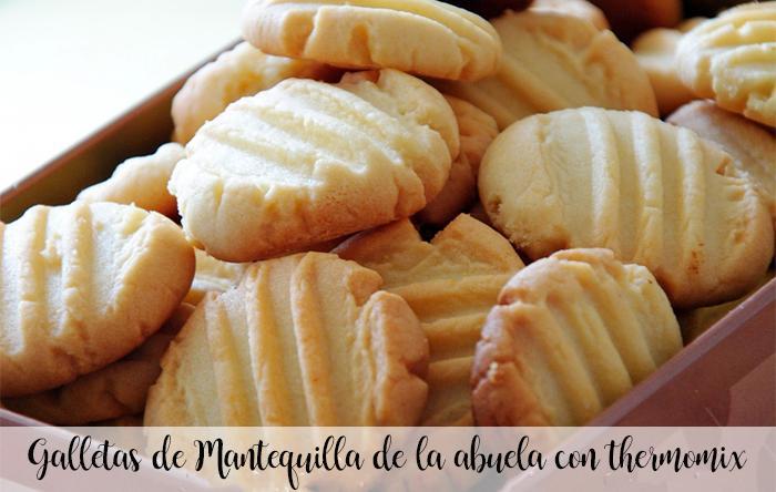Galletas De Mantequilla De La Abuela Con Thermomix Recetas Para Thermomix