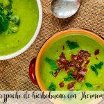 Gazpacho de hierbabuena con Thermomix