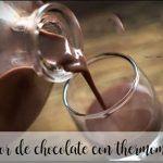 Licor de chocolate con thermomix