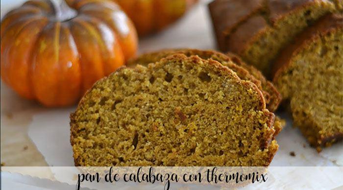 Pan de Calabaza con thermomix