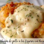 Pechugas de pollo a los 4 quesos con thermomix