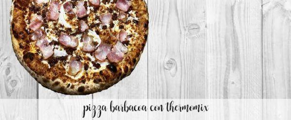 Pizza barbacoa thermomix