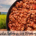 Salsa Boloñesa con thermomix