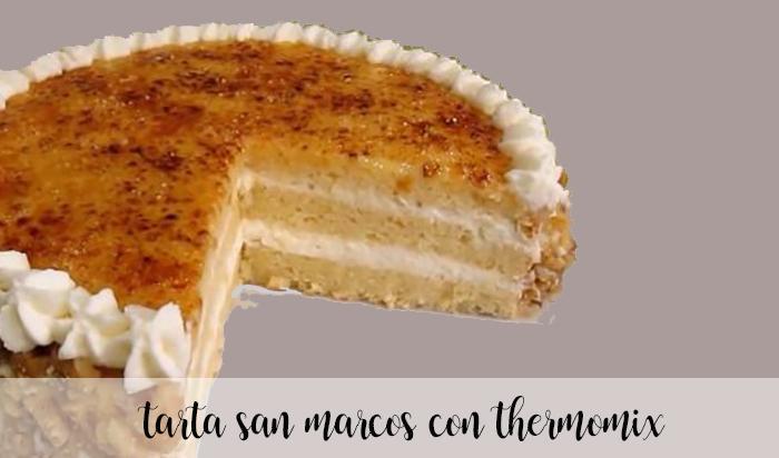 Tarta San Marcos con thermomix