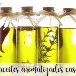 10 aceites aromatizados caseros