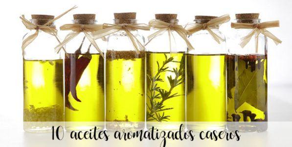 10 recetas para hacer aromatizar aceites