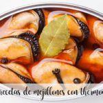 10 recetas de Mejillones con thermomix