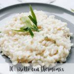 10 risottos con thermomix