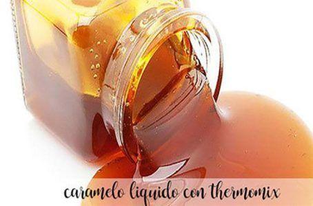 Caramelo liquido con thermomix