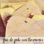 Foie de pato con thermomix