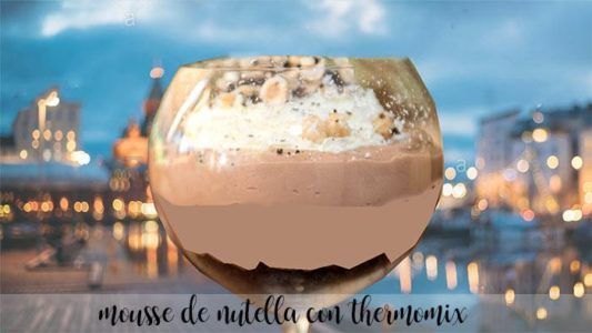 Mousse de Nutella con Thermomix