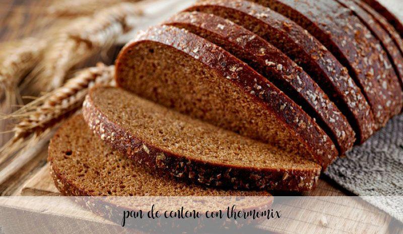 Pan de centeno con Thermomix