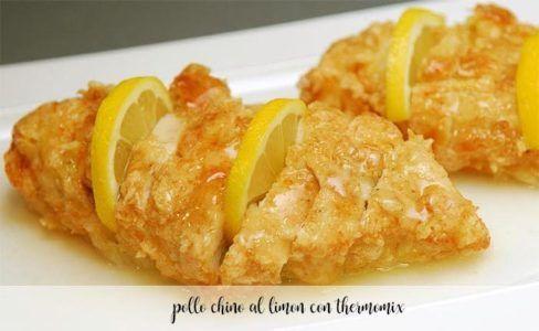 Pollo chino al limón con Thermomix