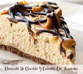 Cheesecake De Chocolate Y Caramelo Con Thermomix