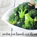 10 recetas con brocoli con thermomix