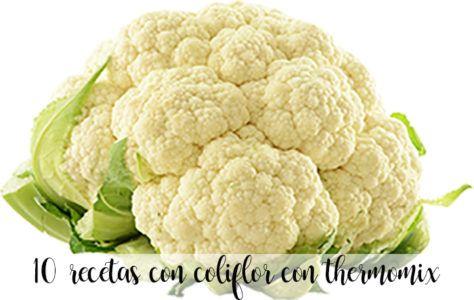 10 recetas con coliflor con thermomix