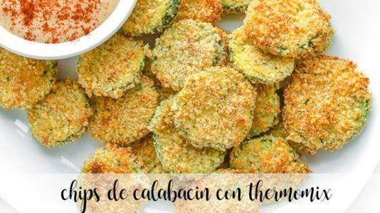 chips de calabacin con thermomix