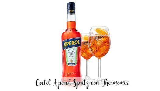 Coctel Aperol Spritz con Thermomix