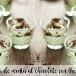 Crema de menta al chocolate con thermomix