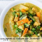 Curry japonés de verduras con Thermomix
