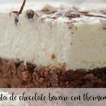 Tarta de chocolate bávaro con Thermomix