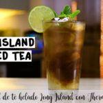 Cóctel de té helado Long Island con Thermomix
