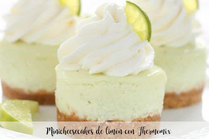 Minicheesecakes de limón con Thermomix
